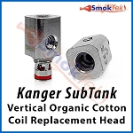 Kanger Subtank Vertical Organic Cotton Coil (OCC) Replacement Head