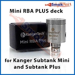Kanger Subtank Mini RBA Plus Base