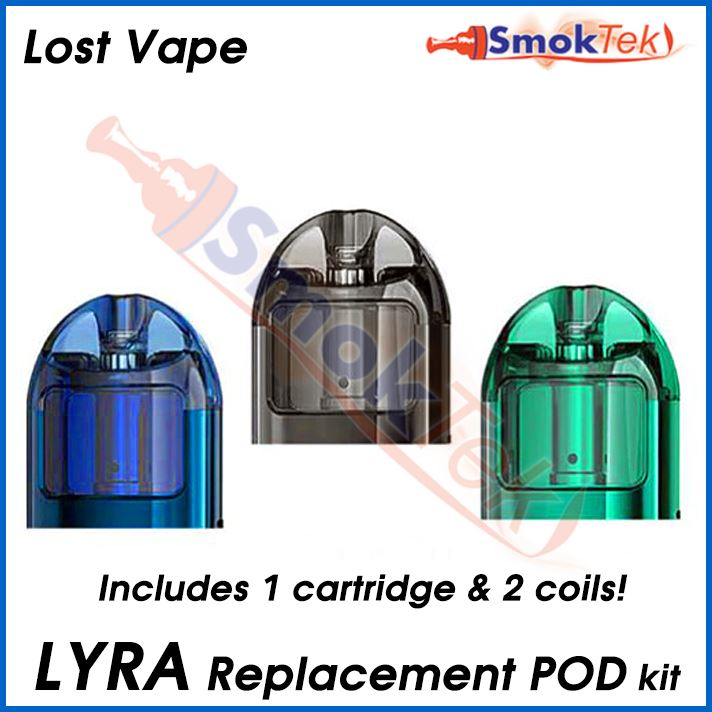 Lost Vape Lyra Replacement Pod + Coils