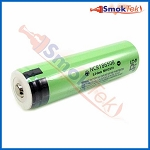 Panasonic NCR18650B 3400mAh 3.7V Protected Li-ion Battery - Button Top