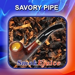 Savory Pipe SmokEjuice, Premium Natural E-Liquid