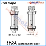 Lost Vape Lyra Replacement Coils (5-Pack)