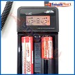 LCD voltage display, fits various size batteries
