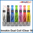 The Innokin iClear 16 Dual Coil with round tip (some units may come with a black tip)